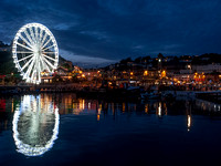 The Big Wheel overlooking Torquay Harbour