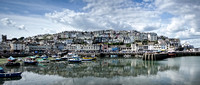 Brixham Harbour - Panorama