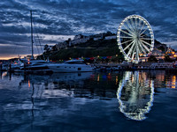 Torquay Marina and the Big Olympic Observation Wheel