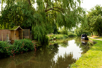 Canal in Alrewas