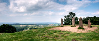 Four Standing Stones on the Clent Hills